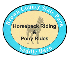 Brown County State Park Saddle Barn, Logo